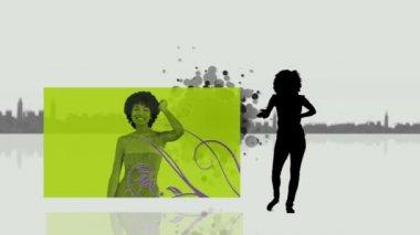 Video of women dancing — Stock Video