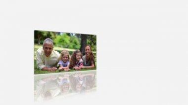 Family holidays videos — Stock Video