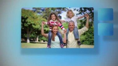 Happy family — Stock video