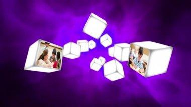 Vídeo da sala de aula com crianças — Vídeo stock