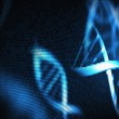 Blue DNA helix — Stock Photo #23046956