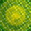 Stock Photo: Green pixelated circles