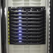 Royalty-Free Stock Photo: Close-up of a row of servers