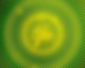 Green pixelated circles — Stock Photo