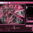 Pink microscopic technology - Lizenzfreies Foto