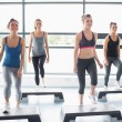 aerobics klass — Stockfoto