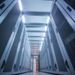 Stock Photo: Empty data center