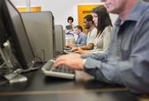 Computer class — Stock Photo