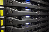Close-up of a server — Stock Photo