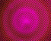 Pink pixelated circles — Stock Photo