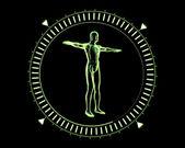 Green Human Circle — Stock Photo