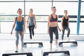 Aerobics class — Stock Photo
