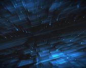 абстрактный синих квадратов — Стоковое фото
