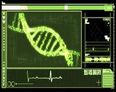 Tecnología verde de hélice de adn — Foto de Stock