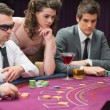 Stock Photo: Around poker table