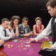 Stock Photo: Playing poker