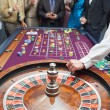Standing at the roulette — Foto Stock