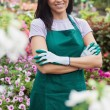 Royalty-Free Stock Photo: Female garden center worker