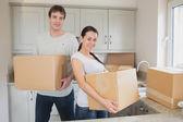 Twee jonge verhuizen — Stockfoto