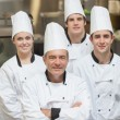Happy team of Chef's — Stock Photo #23105426