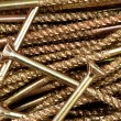 Golden screws — Stockfoto