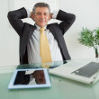 Business man relaxing — Stock Photo #23106508