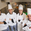 Stock Photo: Team of Chef's