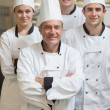 Foto de Stock  : Group of Chef's