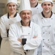 Stock Photo: Group of Chef's