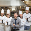 Team of a restaurant — Stock Photo #23109098