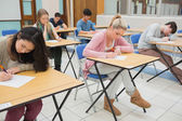 Sitting at the classroom — Stock Photo