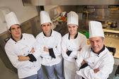 Team of Chef's — Stock Photo