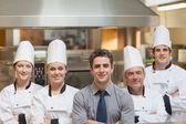 Restaurant team — Stock Photo