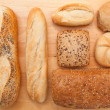 Various breads — Stock Photo #23492823