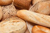 Variety of breads — Stock Photo