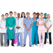Stock Photo: Smiling medical team