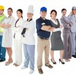 Different types of workers — Foto Stock #24062629