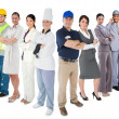 Stock Photo: Different types of workers
