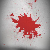 Blood spatter — Stock Photo
