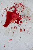Splatter di sangue — Foto Stock