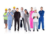 Variety of careers — Stock Photo