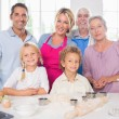 Family cooking together - Lizenzfreies Foto