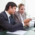 kierownictwo w spotkanie biznesowe — Zdjęcie stockowe