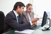Executives in business meeting — Stock Photo