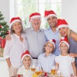 Family posing for photo — Stockfoto #24110805