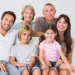 Happy family — Stockfoto #24113883