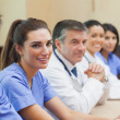 Happy medical team - Stock Photo