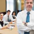 Stockfoto: Standing businessman