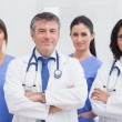 Стоковое фото: Two doctors and two nurses