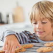 Boy taking a cookie — Stock Photo #24116967